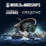 Creative e Wargaming insieme per nuovi bundle in World of Warships